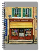 French Hats And Purses Boutique Spiral Notebook