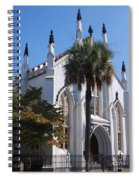 French Huguenot Church In Charleston Spiral Notebook