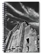 French Middle Age Kisses The Dark Sky Spiral Notebook