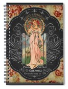 French Perfume-jp3737 Spiral Notebook