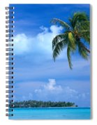 French Polynesia, Bora Bo Spiral Notebook