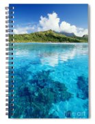 French Polynesia, View Spiral Notebook