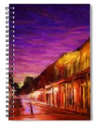 French Quarter 1 Spiral Notebook