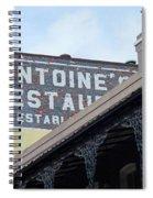 French Quarter 12 Spiral Notebook