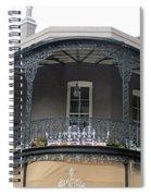 French Quarter 13 Spiral Notebook