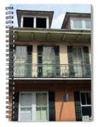 French Quarter 19 Spiral Notebook
