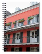 French Quarter 21 Spiral Notebook