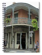 French Quarter 3 Spiral Notebook