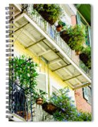 French Quarter Balconies - Nola Spiral Notebook