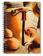 French Quarter Hats Spiral Notebook