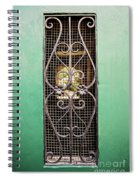 French Quarter Window To The Courtyard Spiral Notebook
