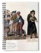 French Revolution, 1795-96 Spiral Notebook