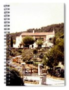 French Riviera 1955 Spiral Notebook