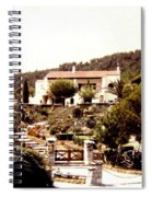 French Riviera 1955 Spiral Notebook