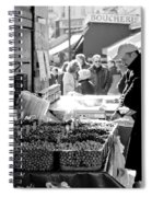 French Street Market Spiral Notebook