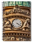 French Time Spiral Notebook