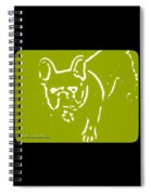 Frenchielove Design Chartreuse Spiral Notebook