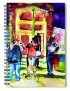 Frenchman Street Spiral Notebook
