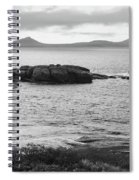 Esperance Bay Bw Spiral Notebook