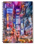 Frenzy New York City Spiral Notebook