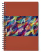 Fresh Abstraction Spiral Notebook