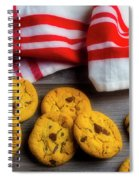 Fresh Baked Cookies Spiral Notebook