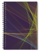 Fresh Computer Graphic Line Pattern Spiral Notebook