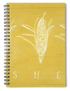 Fresh Corn- Art By Linda Woods Spiral Notebook