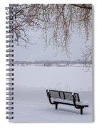 Fresh Fallen Snow Spiral Notebook