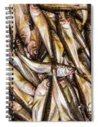 Fresh Fish Marketplace Spiral Notebook