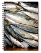 Fresh Fishes In A Market 2 Spiral Notebook