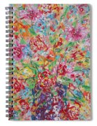 Fresh Flowers. Spiral Notebook
