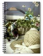 Fresh From Grandma's Garden Spiral Notebook