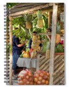 Fresh Fruits For The Day Spiral Notebook