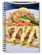 Fresh Grilled Mahi Mahi Spiral Notebook