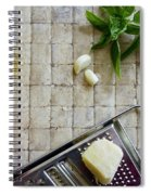 Fresh Italian Cooking Ingredients Spiral Notebook