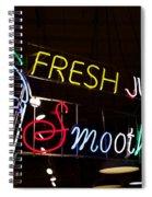 Fresh Juices Spiral Notebook