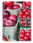 Fresh Market Fruit Spiral Notebook
