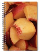 Fresh Peaches Spiral Notebook