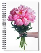 Peony Gift Spiral Notebook