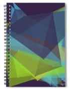 Fresh Polygon Pattern Spiral Notebook