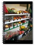 Fresh Produce Spiral Notebook