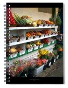 Fresh Produce Spiral Notebook