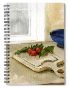 Fresh Radishes  Spiral Notebook