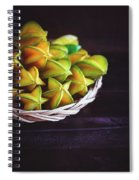 Fresh Ripe Starfruits Spiral Notebook