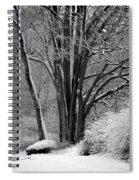 Fresh Snow  Spiral Notebook