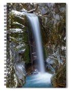 Fresh Snow In Christine Falls Spiral Notebook