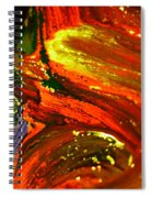 Fresh Swirls Spiral Notebook