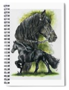 Friesian Spiral Notebook