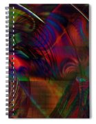 Fresnel Spiral Notebook